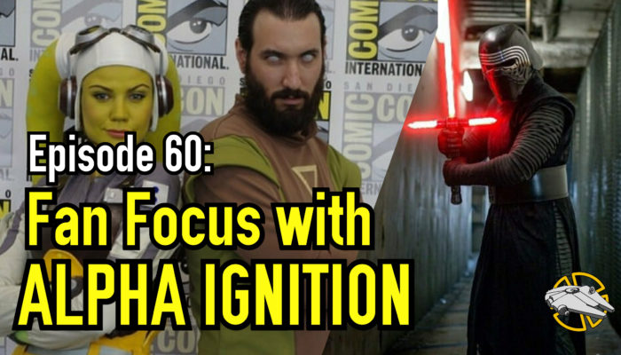 Episode 60 – Fan Focus with Alpha Ignition