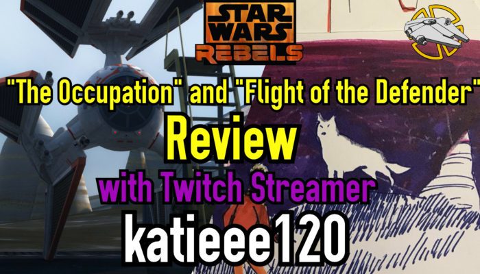 "Episode 61: ""The Occupation"" and ""Flight of the Defender"" – Star Wars Rebels Review"