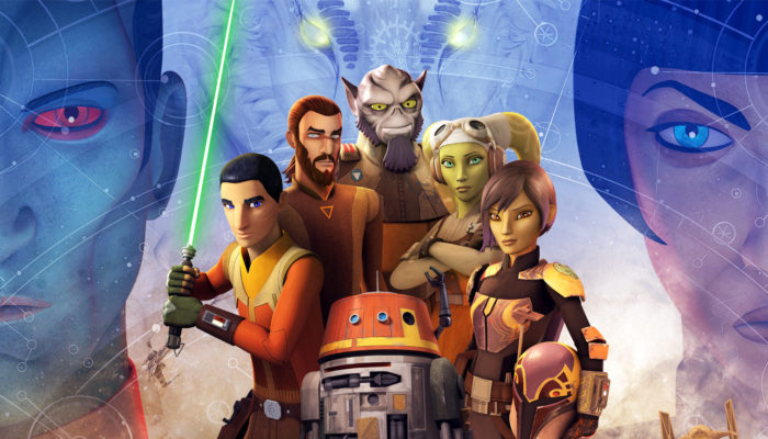Star Wars Rebels: The Complete Fourth Season, on Blu-ray and DVD July 31st